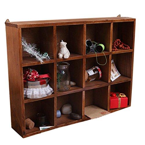 ieasycan-grande-12-red-craft-pantalla-organizador-caja-superior-armario-gabinete-superior-de-madera-