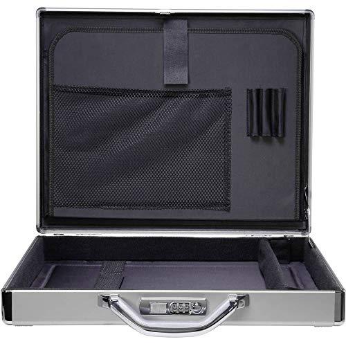 Renkforce Notebook Koffer JJV-2004S Passend für maximal: 43,9 cm (17,3) Aluminium