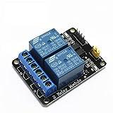 iHaospace 2-CH 5V 2 Kanäle Relais Modul-Brett für Arduino PIC AVR DSP MCU Relais Modul (2 Pcs) Vergleich