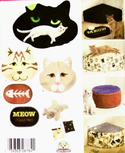 Simplicity Simplicity Pattern 4765 ~ Cat Beds & Accessories