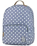 The Pack Society Grau White Dots Classic Backpack