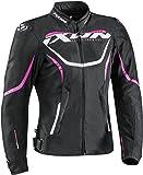 Ixon Sprinter Damenjacke Schwarz/Weiß/Pink M