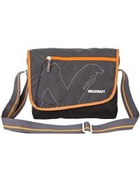 Wildcraft Polyester Black Messenger Bag (Messenger Dc : Wildcraft : Black)