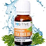 #9: POSITIVE Tea Tree Essential Oil for Skin & Hair - 15ml - Pack of 1