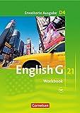 English G 21 - Erweiterte Ausgabe D / Band 4: 8. Schuljahr - Workbook mit Audios online (Englisch) Taschenbuch – 1 Auflage, 13. 2018