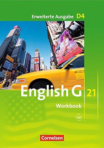 English G 21 - Erweiterte Ausgabe D / Band 4: 8. Schuljahr - Workbook mit Audios online (06 Audio)