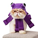BECROWM EU Pet Dog Bandana Katze Puppy verstellbar Schal mit Jingle Bells Geschenk für Weihnachten Kostüm