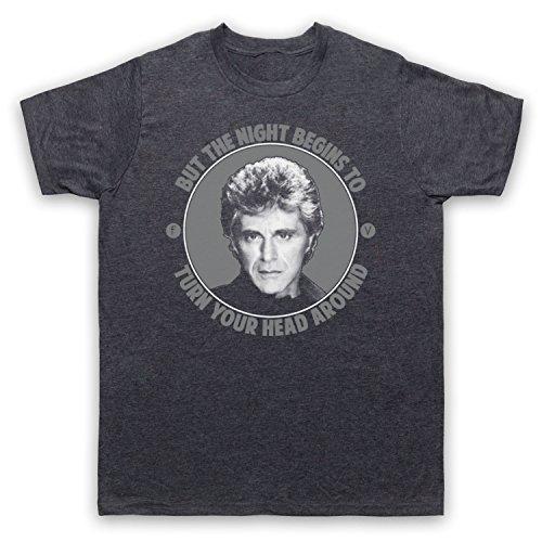 Inspiriert durch Frankie Valli The Night Unofficial Herren T-Shirt Jahrgang Schiefer