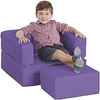 ECR4Kids softzone flip-flop Convertible silla de acampada para niños