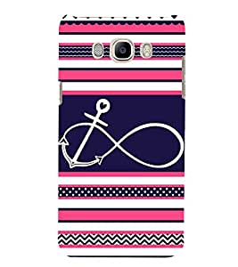 Love Infinity 3D Hard Polycarbonate Designer Back Case Cover for Samsung Galaxy J5 2016 :: Samsung Galaxy J5 2016 J510F :: Samsung Galaxy J5 2016 J510FN J510G J510Y J510M :: Samsung Galaxy J5 Duos 2016