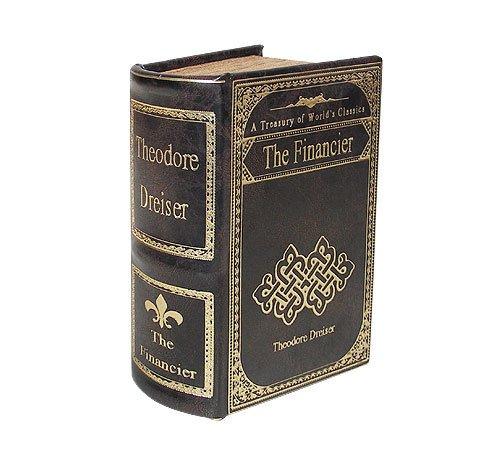 Hohles Buch Geheimfach THE FINANCIER Buchversteck Antik-Stil17cm