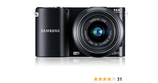Samsung Nx1100 Systemkamera 3 Zoll Inkl 20 50 Mm Kamera