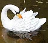 Best Gifts & Decor Garden Decors - Wonderland Floating Swan back Review
