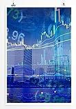 Sinus Art Kunst und Deko Poster - Bild – Finanzwelt- Fotodruck in gestochen scharfer Qualität