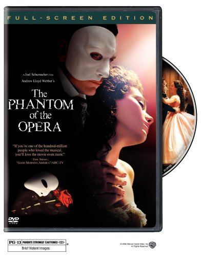 The Phantom of the Opera (Full Screen Edition) by Gerard Butler