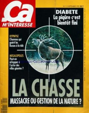 CA M'INTERESSE [No 115] du 01/09/1990