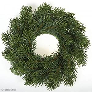 Rayher 55347000Corona de Navidad, 20cm