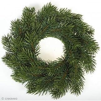Rayher 55347000Corona de Navidad, 20cm Diámetro