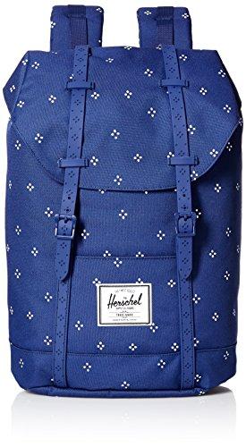 Herschel ,  Unisex Erwachsene Rucksack blau / weiß