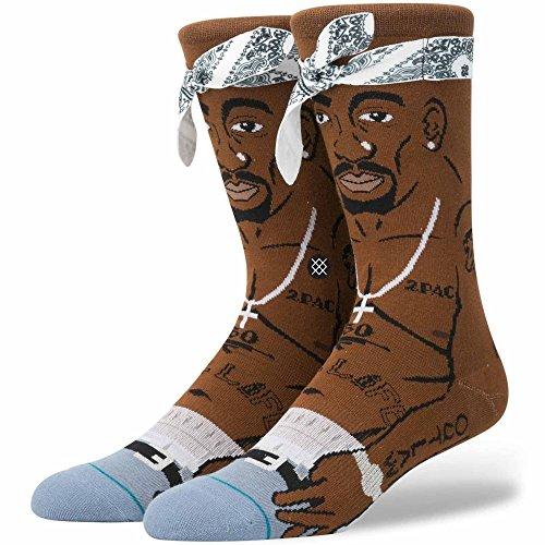 Stance Anthem Legends Tupac, brown