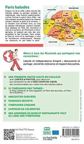 Guide Du Routard Paris Balades 201718 Dormir A Paris