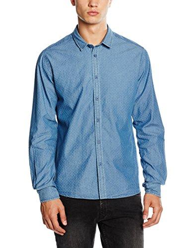 HOPE'N LIFE Herren Pullover Nalini Blau (Light Blue)
