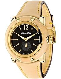 Glam Rock Palm Beach Damen-Armbanduhr 40mm Armband Leder Braun Schweizer Quarz Zifferblatt Schwarz GR40009