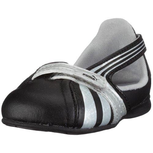 Puma Espera III Dazzle Inf 302872, Chaussures bébé fille - Noir - schwarz (black-pumasilver04), 22