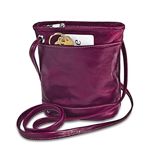 david-king-co-fiorentini-top-zip-mini-borsa-3512-rosa-rosa-3512f