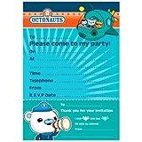 Octonauts Party - Birthday Party Invitations x 20