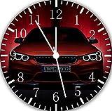 Rusch BMW E265 Wanduhr, 25,4 cm, schönes Geschenk und Zimmerdekoration