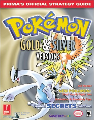 Pokemon Gold and Silver: Official Strategy Guide (Prima's official strategy guide) by Prima Development (30-Sep-2000) Paperback