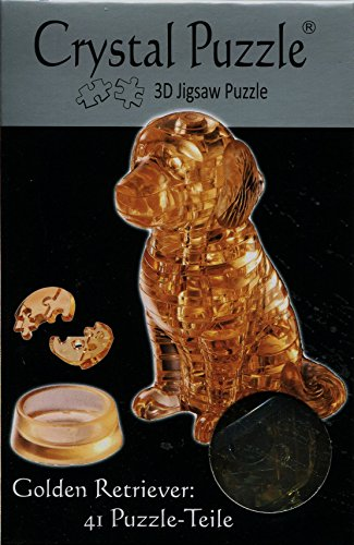 Preisvergleich Produktbild Jeruel 59122 - Crystal Puzzle, Golden Retriever