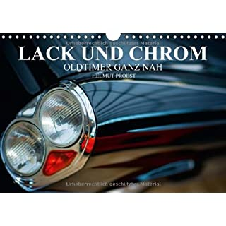 Lack und Chrom - Oldtimer ganz nah/CH-Version (Wandkalender 2014 DIN A4 quer): Fotos von edlen Oldtimern ganz nah (Monatskalender, 14 Seiten)