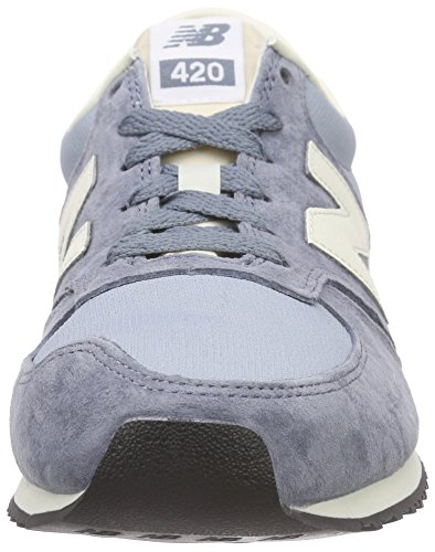 New Balance U420v1, Baskets Basses Homme, Schwarz, Taille Unique Bleu (Blue/White/Light Blue)