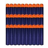 HONGCI 9,5cm Blau EVA Darts Pfeile Für Alle Nerf N-Strike Elite MEGA Blaster Toy Gun, Nerf MEGA Zubehör,Spielzeug Pistole Scharfschütze Bullet (30pcs)