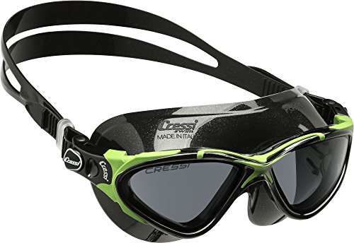 cressi-planet-gafas-de-natacian-unisex-color-negro-lima-talla-anica