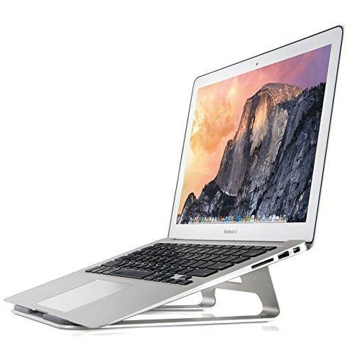 Zolion® Laptop-Standfuß Einfache Premium-Qualität Aluminium mit Silikon-Pads, # 1 Universal Laptop-Ständer für ergonomischen Komfort auch ein Laptop-Kühlstand. Für Macbook Pro iPad Pro Surface Pro und alle Laptops 11 bis 15