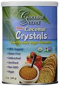Coconut Secret - Cristaux de Noix de Coco Brutes - 12 oz (375 g)