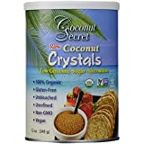 Coconut Secret - Cristaux de Noix de Coco Brutes - 12 oz (375 g)