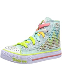 Skechers ShufflesEdgy Girlz - Zapatillas de lona para niña