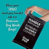 smugpets Premium Hundekotbeutel, Extra dick, biologisch abbaubar, frischer Duft, umweltfreundlich, extra groß, auslaufsicher, 20Rollen mit 15Kotbeuteln Pro Rolle (300 Stück) - 4