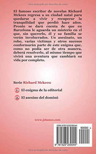 El enigma de la editorial: Volume 1 (Richard Mckees series)