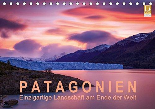 Patagonien: Einzigartige Landschaft am Ende der Welt (Tischkalender 2019 DIN A5 quer): Berühmte Berge und mächtige Gletscher im einzigartigen Licht (Monatskalender, 14 Seiten ) (CALVENDO Natur)