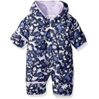 Columbia Snuggly Bunny Bunting, Giacca Isolata Unisex Bimbi, Nocturnal Deers/Soft Violet, 6/12