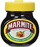 Marmite Yeast Extract Paste in a Glass Jar 125 g (Pack of 4)