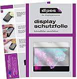 dipos I 2X Schutzfolie klar passend für Microsoft Surface Pro 6 Folie Displayschutzfolie