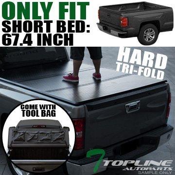 topline-autopart-tri-fold-hard-tonneau-cover-trunk-lid-09-16-dodge-ram-1500-2500-3500-57-ft-684-shor