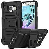 Samsung Galaxy A3 Hülle - MoKo [Heavy Duty Serie] Outdoor Dual Layer Armor Case Schutzhülle ...