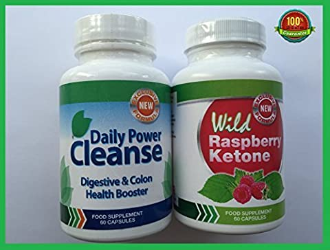 Wild Raspberry Ketone - WILD RASPBERRY KETONE (60 CAPSULES) & DAILY